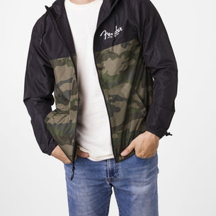 Fender Camo And Black Windbreaker