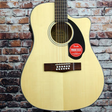 Fender CD-60SCE  12-String Acoustic-Electric Guitar