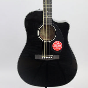 Fender CD-60SCE Acoustic-Electric Guitar | Black