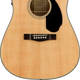 Fender CD-60SCE Dreadnought Acoustic Guitar | Natural