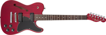 Fender Jim Adkins JA-90 Telecaster Thinline, Crimson Transparent Red