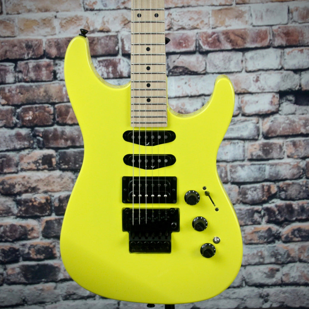 Fender Limited HM Strat | Frozen Yellow