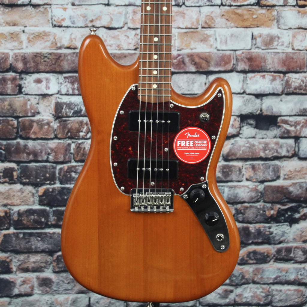 Fender Mustang 90 Guitar | Aged Natural