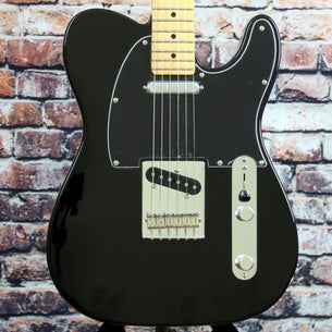 Fender Player Telecaster Electric Guitar | Black Finish | Maple Fingerboard