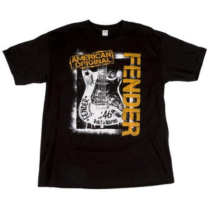 Fender Spraypaint Graffiti T-Shirt Small