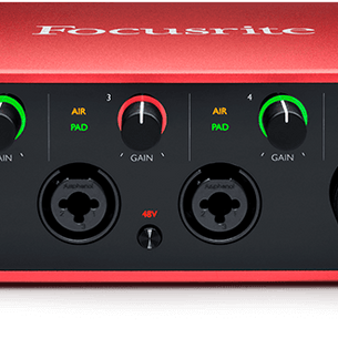 Focusrite Scarlett 18i8 Recording Interface