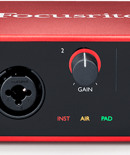 Focusrite Scarlett 4i4 USB Recording Interface | 3rd Gen