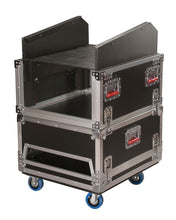 Gator G-TOUR-GRC-1406 14U Top 6U Side Audio Road Console Rack