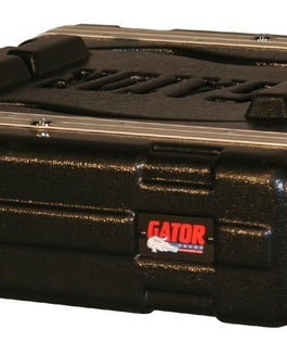 "Gator GR Standard Series Molded Pro Audio Rack | 19"" Depth 2U"