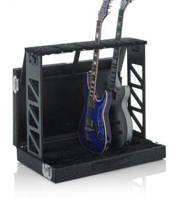 Gator GTRSTD4 Compact Rack Style Guitar Stand | Folds into Case