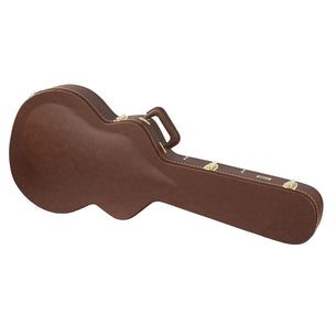 Gator GW-335-BROWN Semi-Hollow Guitar Deluxe Wood Case