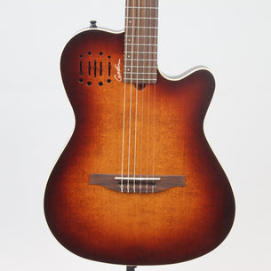 Godin Mulitac Nylon Encore Guitar | Burnt Umber
