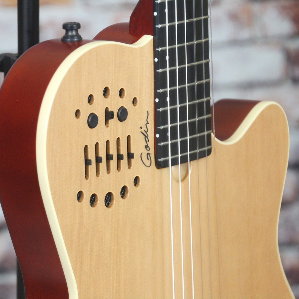 Godin Multiac ACS Nylon Natural SG Guitar – Yandas Music