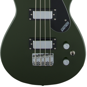 Gretsch G2220 Electromatic Junior Jet Bass Guitar | Torino Green