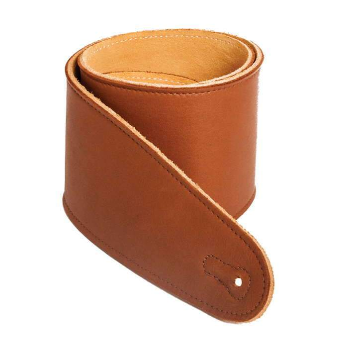 "Henry Heller 3.5"" Capri Leather Guitar Strap 