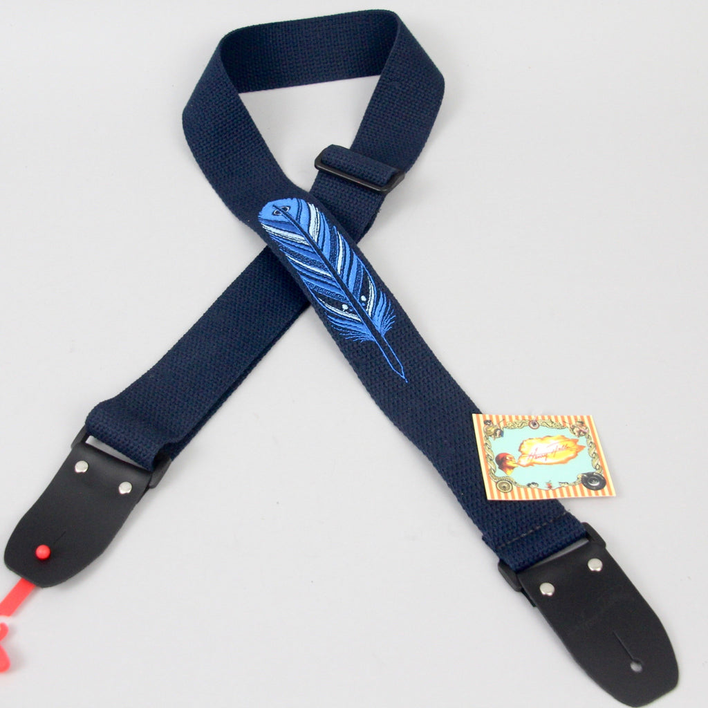 Henry Heller HDH-02 David Hale Embroidered Guitar Strap | HDH-07