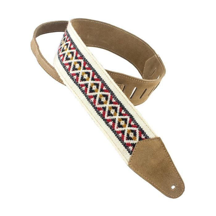 Henry Heller HPCWD-NAT Fashion Cotton Series Guitar Strap