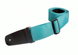 "Henry Heller HPOLM 2"" Standard Poly Strap with Microfiber Ends Teal"
