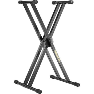 Hercules EZ-Lok Double Braced Keyboard Stand