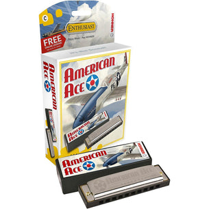 Hohner American Ace Harmonica | Key Of C
