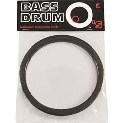 "Holz 6"" Black Kick Drum Port"