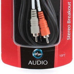 Hosa CMR-210 Mini 3.5mm Male to Dual RCA Interconnect Cable