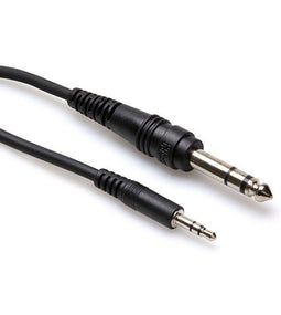 Hosa CMS-110 Stereo Interconnect Cable | 3.5mm TRS to 1/4 TRS