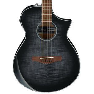 Ibanez AEWC400 Acoustic-Electric Guitar | Trans Black Suburst Default Title