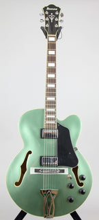 Ibanez AF75 Artcore Series Hollow Body Electric Guitar Olive Metallic