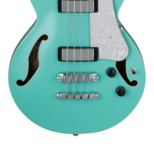 Ibanez AGB260 Hollow-Body Bass Guitar | Sea Foam Green Default Title