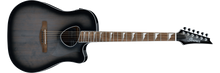 Ibanez ALT30 Altstar Acoustic-Electric Guitar | Transparent Charcoal Burst Default Title