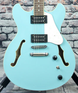 Ibanez AS63 Semi-Hollow Body Guitar | Mint Blue