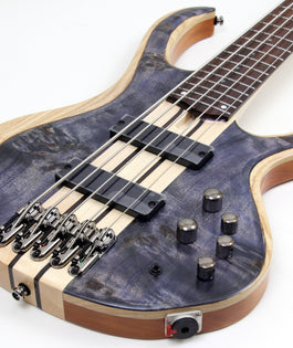 Ibanez BTB845 5-String Bass Guitar | Deep Twilight Finish