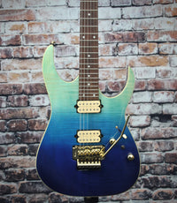 Ibanez RG420HPFM Electric Guitar | Blue Reef Gradation