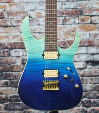 Ibanez RG421HPFM Electric Guitar | Blue Reef Gradation