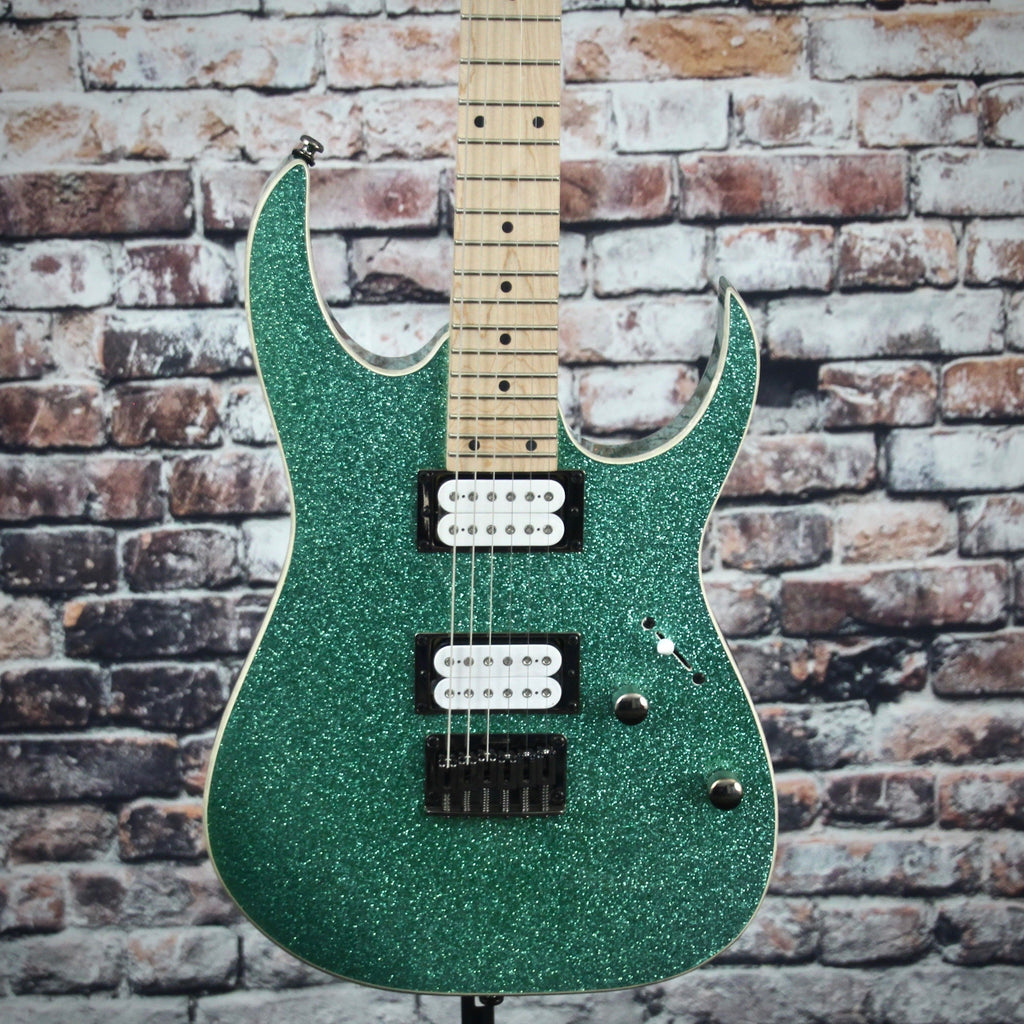 Ibanez RG421MSP Electric Guitar | Turquoise Sparkle