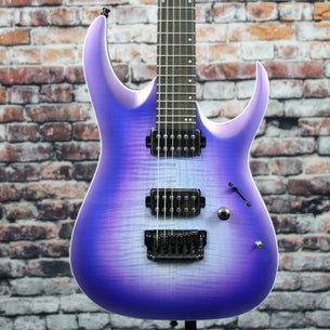 Ibanez RGA61AL Axion Label Electric Guitar | Indigo Aurora Burst