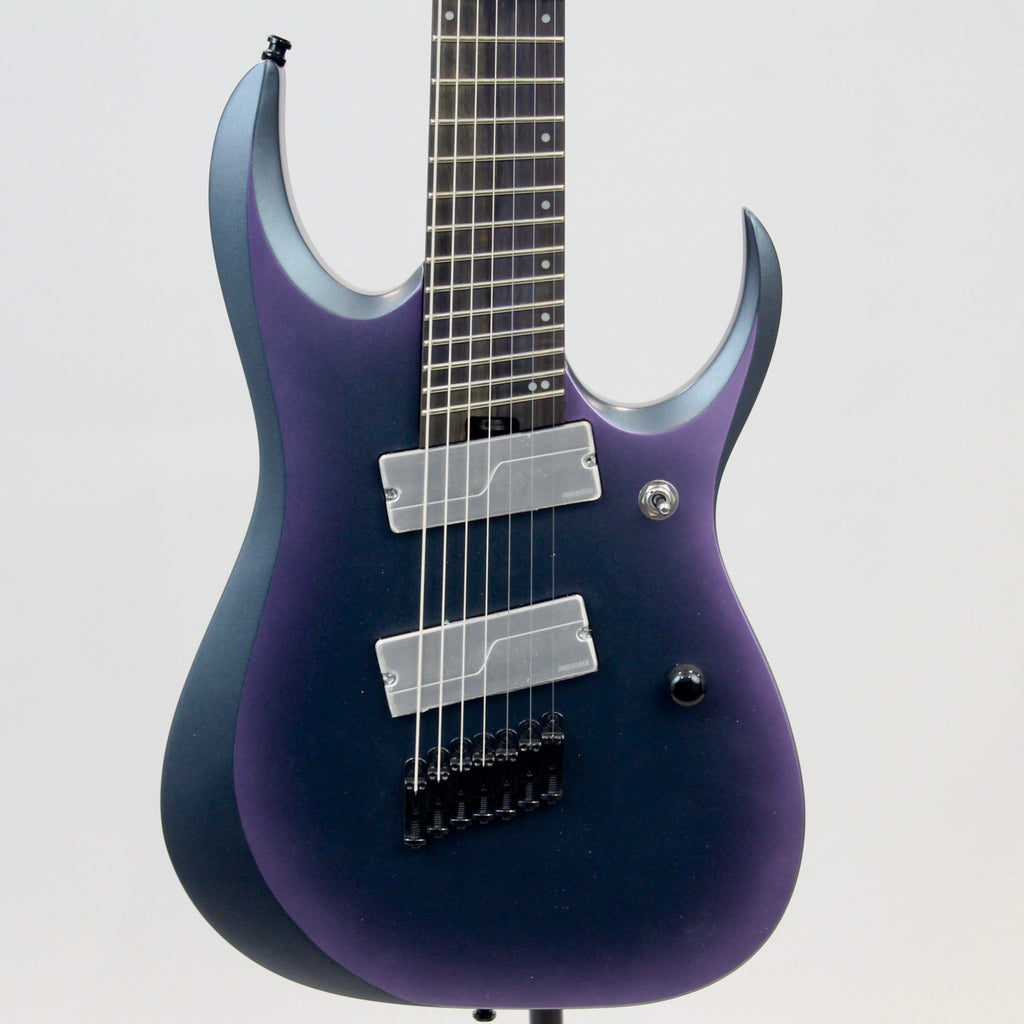 Ibanez RGD71ALMS Axion label 7-String Guitar | Black Aurora Burst