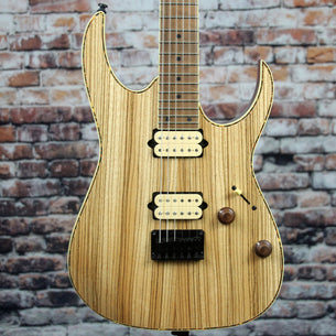 Ibanez RGEW521MZW Electric Guitar | Zebrawood Top
