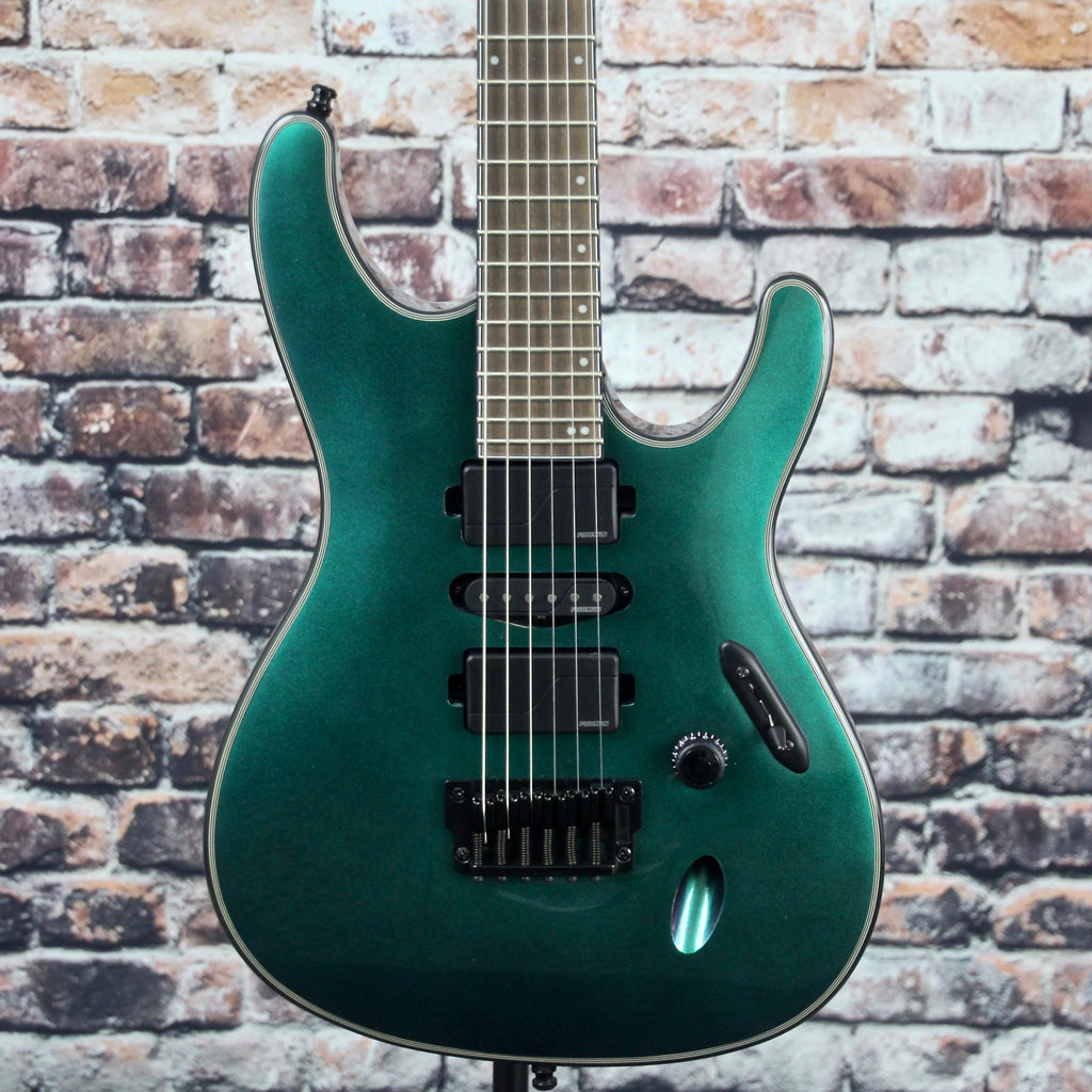 Ibanez S671ALB Axion Label Guitar | Blue Chameleon