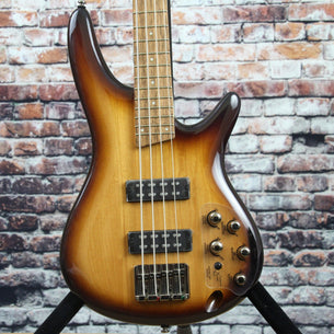 Ibanez SR370E Bass Guitar | Natural Browned Burst