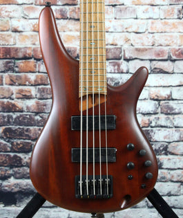 Ibanez SR505E 5-String Bass Guitar | Brown Mahogany