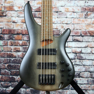 Ibanez SR505E 5-String Bass Guitar | Surreal Black Dual Fade