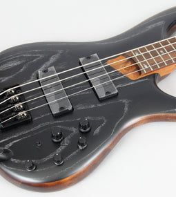 Ibanez SR670 Bass Guitar | Silver Wave Black