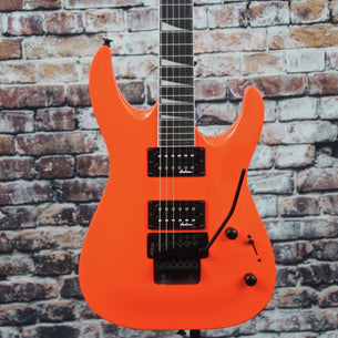 Jackson JS32 DKA Dinky Arch Top Guitar | Neon Orange