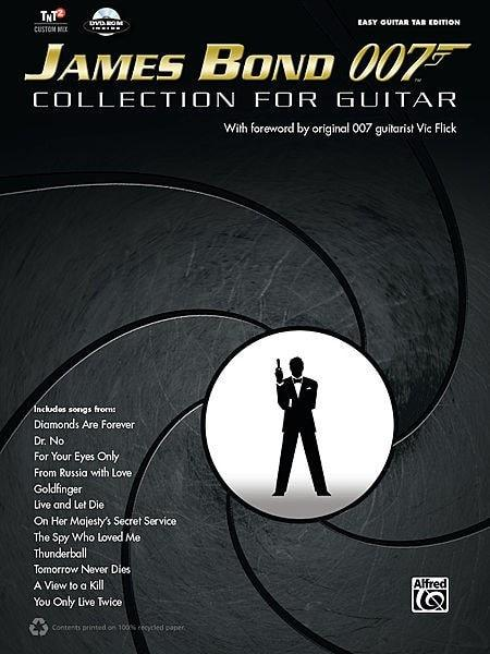 James Bond 007 Collection For Guitar | Book/CD