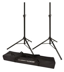 Jamstands JS-TS50-2 Tripod Speakers Stands - PAIR | Includes Free Carrying Bag!