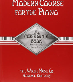 John Thompson Modern Course For The Piano - 4th Grade Book