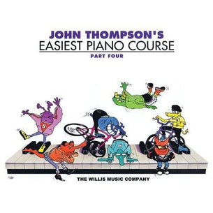 John Thompson's Easiest Piano Course - Part 4