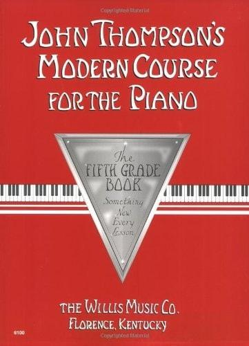 John Thompson's Modern Course For The Piano - 5th Grade Book